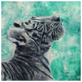 Tiger's Reverie by siniart