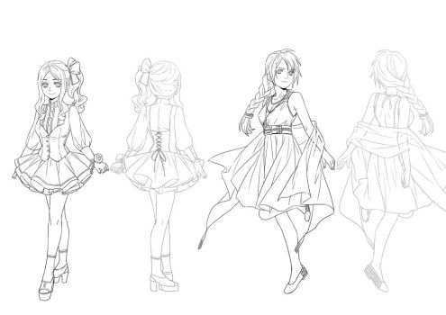 character design female - 2 by 1001yeah