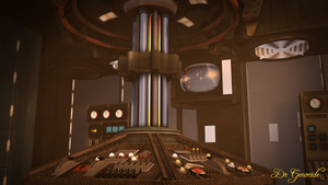 Dr Who Industrial Tardis by DrGenocideSFM