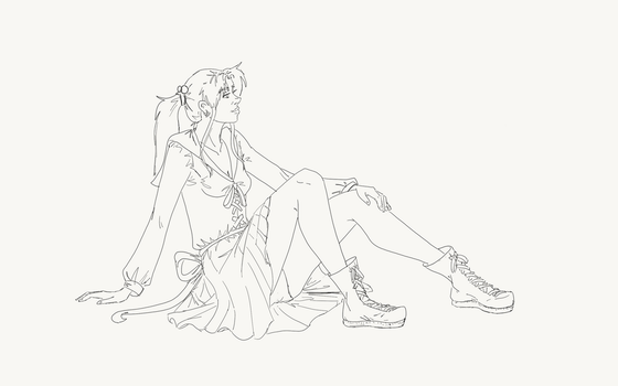 Sailor Jupiter lineart by Lyscinia