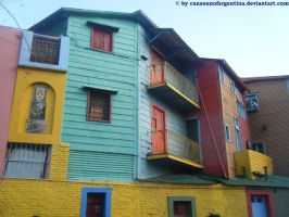 Buenos Aires - La Boca I by Cansounofargentina