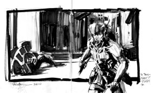 ::raiden sketch:: by GIO2286