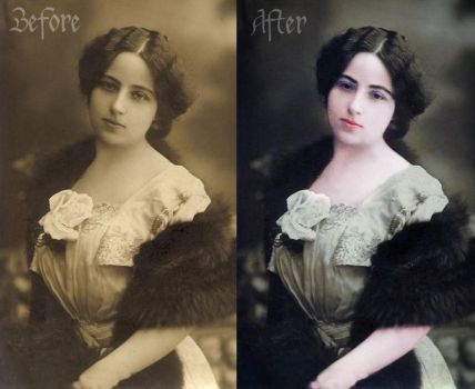 Colorization by SilvieTepes