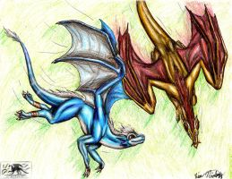 ..Kiribian for Draconis.. by Verridith