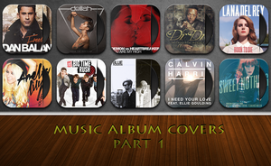 Music Album Cover Icons 1 by artushj