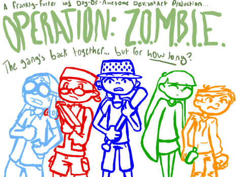Operation ZOMBIE Cover by frankly-furter