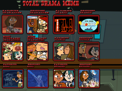 Total Drama Controversy Meme [Updated] by AerisSs