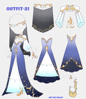 (AUCTION|CLOSE) Outfit 21 by krianart