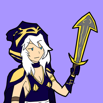 Ashe by Imposterchan
