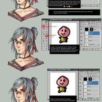 General coloring tutorial by Abuze