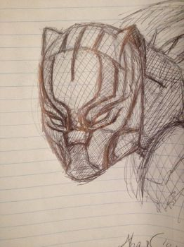 Black Panther by FangGirl24