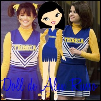 Doll Alex Russo PNG by Moraselenatika