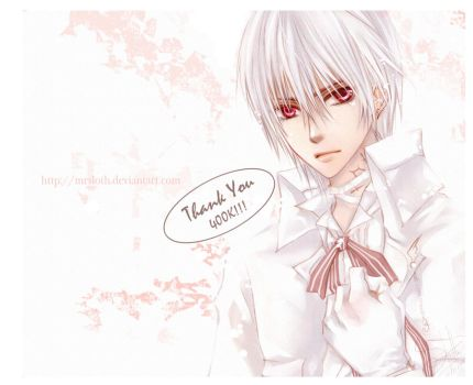 Vampire Knight : Thank You by mrsloth