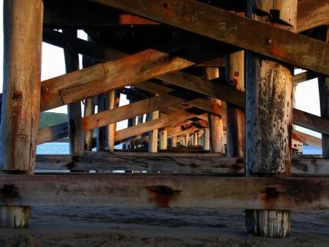 under the pier by ParachutingFish