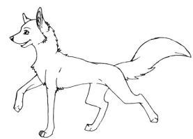 Wolf Template by wolfshadow10
