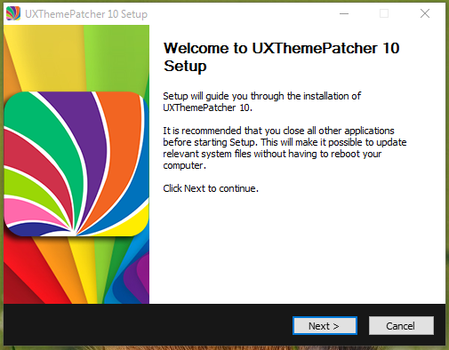 UXThemePatcher For Windows 10 Version 1511, 10586 by hs1987