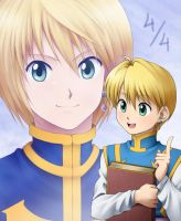 Then and Now - Kurapika by LauraPaladiknight