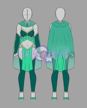 Clothing Adopt Auction: Female Outfit 21 (OPEN) by xDreamyDesigns