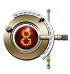 Steampunk Phopteron Nixie Tube Icon by yereverluvinuncleber