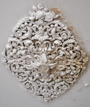 ceiling medallion by jessebeans