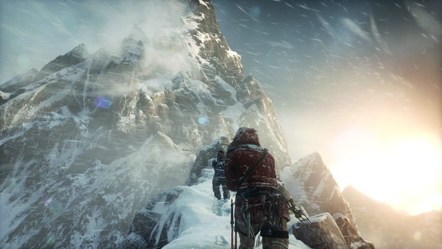Rise of the Tomb Raider Wallpaper by Drive637