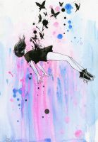 OUT OF GRAVITY by lora-zombie