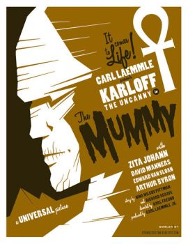 mummy poster by strongstuff