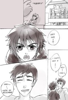BH6 one-shot fancomic #2 Right and Wrong by BonBonPich
