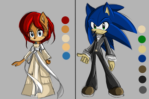 ~:-Sonic and Sally Concept-:~ by xLiquidSilverx