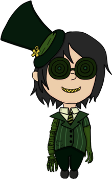 Mechanical Greedler Chibi by Magegirl-Nino