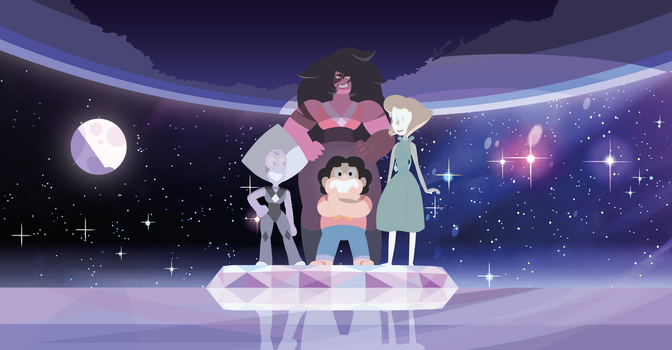 Steven Universe - Inverted Crystal gems and colors by AlexDTI