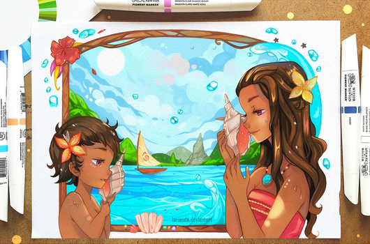 +Moana - The Sound of the Ocean+ by larienne
