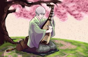 Playing to the Blossoms by Ilchymis