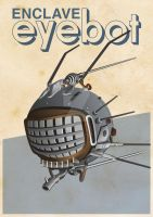 Fallout 3 Eyebot by 4MindZapper