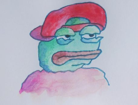 Super rare Pepe by pushka