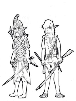 Silvian Elves of the Kingdom of Order by TheReptilianGeneral