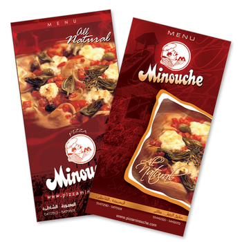 Minouche Menu by ramezmohamed