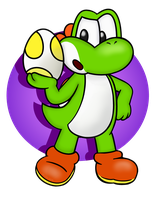 Yoshi Dino! by Isaangie