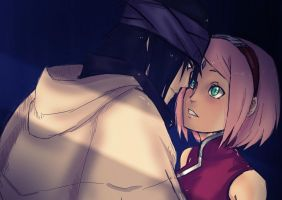 The Last SasuSaku Colored by Stray-Ink92