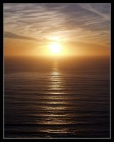 Point Loma Sunset by cra5her