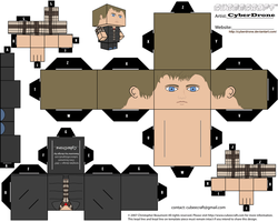 Cubee - Rory Williams 'Ver2' by CyberDrone