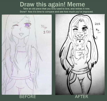 Draw this again meme by Hatsuko-senju