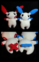 #311 and #312: Plusle and Minun