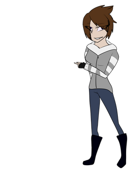Cleeo Ref (INFO IN DES.) Human Disguise by AlaskatheHetaian