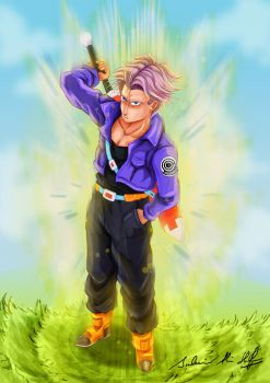 Future Trunks by Frostbite194