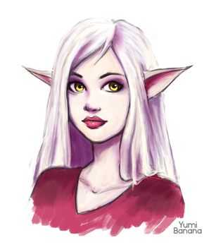 Elf girl by Yumi-Banana