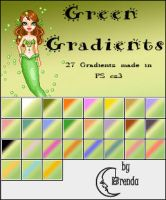 Green Gradients PS by Coby17