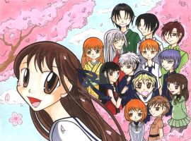 FRUITS BASKET - All Together by VeeBunny