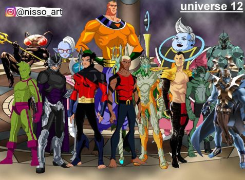 universe 12 all atlantian warriors by nissimaharonov