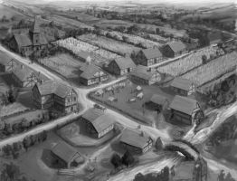 Medieval Village Concept by joeshawcross